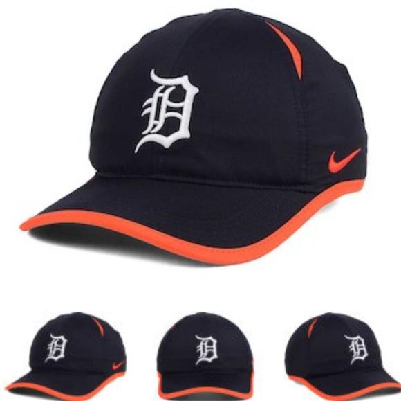 b06bf3df29d Detroit Tigers Nike Dri-Fit Baseball Hat Cap NWT